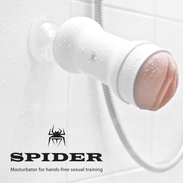 Âm đạo giả gắn tường không rung Spider