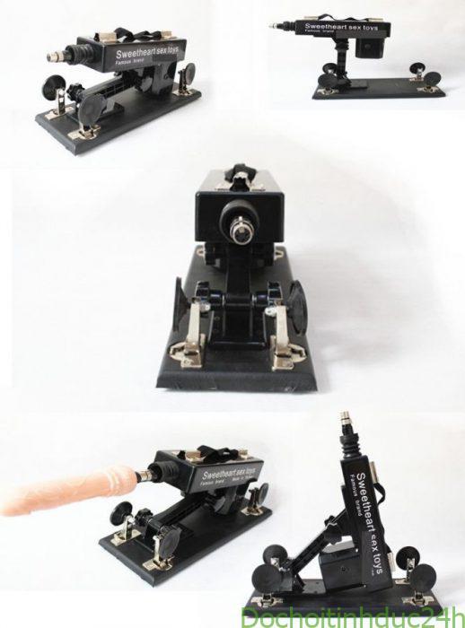 Máy thủ dâm tự động sextoy machine gun